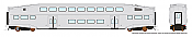Rapido 146095 HO - Single BiLevel Commuter Car - Undecorated Coach - Series 4 Body