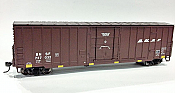 Fox Valley Models 30243 HO Soo Line Built 7 Post Boxcar - Burlington Northern & Santa Fe #727044