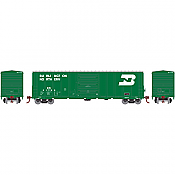 Athearn HO 17821 50 Ft PS 5277 Box Car, Burlington Northern #217706
