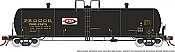 Rapido 135003-B HO Scale - Procor GP20 20K Gal Tank Car: PROX As Delivered w/ Split P Logo - Single Car #47680