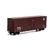 Athearn Roundhouse 1658 HO Scale - 50Ft Smooth HC Plug Box - BNSF/Round Logo #712779