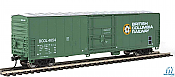 Walthers Mainline HO 2027 - 50ft Insulated Boxcar - British Columbia Railway #4654