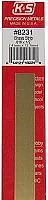 K&S Engineering 8231 All Scale - Brass Strip - 12inch x 1/2inch x .016inch