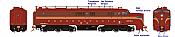 Rapido 23532 HO - PA-1 + PB-1 Locomotive Set - DCC & Sound - Pennsylvania #5757+5750B