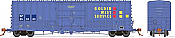 Rapido 137005-F HO Scale - B-100-40 Boxcar: Golden West - SP Patch - Single Car #656434