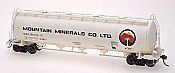 Intermountain Railway Procor Pressure Flow Hoppers Mountain Minerals #126115