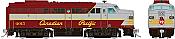 Rapido 37010 - HO Alco FA-1 - DCC Ready - Canadian Pacific (Script Scheme) #4025