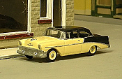 Sylvan Scale Models 293 HO Scale - 1956 Chevy 210 Two Door Sedan - Unpainted and Resin Cast Kit