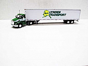 Trucks n Stuff TNS016 - HO Kenworth T680 Day Cab Tractor - 53ft Dry Van Trailer - Lynden Transport