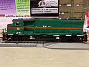 Atlas 10002722 HO GP40-2(W) DCC/Sound - Master Gold - Georgia & Florida Railnet #9463