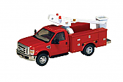 River Point Station 536572610 Ford F-450 XL Bucket Truck w/Regular Cab & Dual Rear Wheels-Assembled - Red