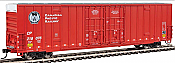 Walthers Mainline 2990 - HO 60ft Hi-Cube Plate F Boxcar - Canadian Pacific #218076