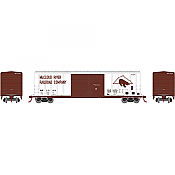 Athearn 27209 HO - 50ft FMC Centered Double Door Box - Michigan Central Railroad MCR #2156 (#3)