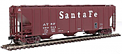 Walthers Mainline 54 Ps 4427 CD Covered Hopper Santa Fe 303036