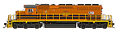 InterMountain 49368S-01 HO Diesel EMD SD40-2 ESU LokSound DCC - Genesee & Wyoming - Goderich & Exeter #3393