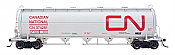 Intermountain Railway 48906-9 HO Procor Pressure Flow Hoppers Canadian National CN #374173
