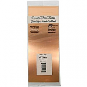 K&S Engineering 277 All Scale - Copper Flat Sheet - 0.016inch x 4inch x 10inch