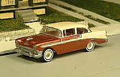 Sylvan Scale Models 295 HO Scale - 1956 Chevy Bel Air Two Door Sedan  - Unpainted and Resin Cast Kit