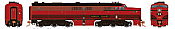 Rapido 23514 HO - PA-1 Single Locomotive - DCC & Sound - Lehigh Valley #603
