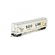 Athearn 6956 N ACF 4600 3-Bay Centerflow Hopper, SOO No.74139