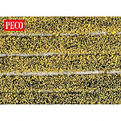 Peco PSG-21 - High Self Adhesive Daffodil Tuft Strips - 4mm (10 strips)