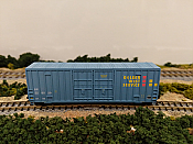 Intermountain 6133010-05 N - Value Line Gunderson 50Ft High Cube DD Boxcar - Flat Roof - Golden West Service - SP #228029