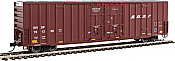 Walthers 2906 HO 60ft High Cube Plate F Boxcar BNSF #761399