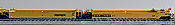 Athearn 15595 HO Maxi III 48 FT Well Car  5 Car Set  Trailer Train (TT) (Black Logo) No.74016