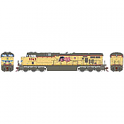 Athearn G83184 - HO Scale ES44AC DC/DCC/Sound Diesel - UP Faded #5363
