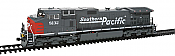 Kato Diesel GE C44-9W Southern Pacific #8104 DCC Ready