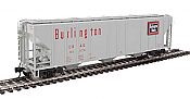 Walthers Mainline 7466 - HO 50ft PS-2 CD 4427 Covered Hopper - Chicago, Burlington & Quincy #85632