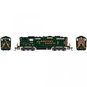 Athearn Genesis G82309 HO Scale - GP7 Diesel, w/ DCC & Sound - Western Pacific #708
