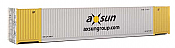 Walthers 8527 HO SceneMaster 53 FT Singamas Corrugated-Side Container - Ready to Run - Axsun