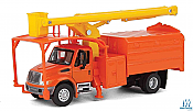 Walthers SceneMaster HO 11744 International(R) 4300 2-Axle Truck with Tree Trimmer Body - Assembled