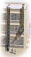 Walthers 3515 HO Cornerstone - Caged Ladders & Vents - Kit - 5 Each Ladders & Vents