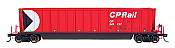 Intermountain Railway 47102-61 HO - Bathtub Coal Gondola - Canadian Pacific Multimark Red CP 349055
