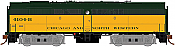 Rapido 22519 HO - DC/DCC/Sound - MLW FB-2 Chicago and North Western #4104-B - Pre-order