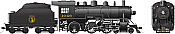 Rapido 602512 HO D10h Dominion Atlantic #1046 DC/DCC/Sound Pre-Order coming 2020