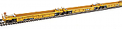 WalthersMainline 55608 HO Thrall 5-Unit Rebuilt 40 Ft Well Car - TTX DTTX 740428 A-E