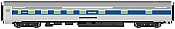 WalthersMainline 30112 HO Scale - RTR 85 ft Budd 10-6 Sleeper - Amtrak (Phase IV)