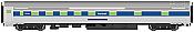 Walthers Mainline 30112 - HO Scale RTR 85 ft Budd 10-6 Sleeper - Amtrak (Phase IV)
