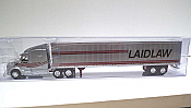 Trucks n Stuff TNS023 - HO Peterbilt 579 Sleeper Cab Tractor - 53ft Dry Van Trailer - Laidlaw