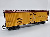 Rapido Trains 121054-2 - HO 37ft General American Meat Reefer - GARX Refrigerator #3495