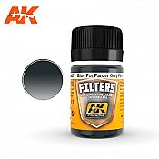 AK Interactive Filter Blue for Panzer Grey Enamel Paint 35ml