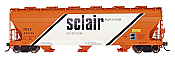 Intermountain 47020-24 HO RTR- ACF 4650 3-Bay Hopper - Sclair #46556