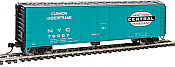 Walthers 2844 HO Mainline 50 Ft PC&F Insulated Boxcar New York Central NYC #78987