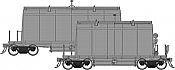 Rapido 143098 HO - Long Barrel Ore Hopper - Undecorated