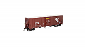 Athearn 72874 - HO RTR 57ft Mechanical Reefer - BNSF Brown #799155