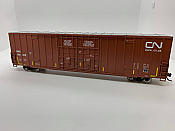 Walthers Mainline 2987 - HO 60ft Hi-Cube Plate F Boxcar - Canadian National (DWC) #794012