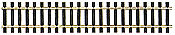 Peco 1709-5 N Scale Code 80 SL 300 Rail Flex Track North American-Style Wooden Ties 5 pcs.